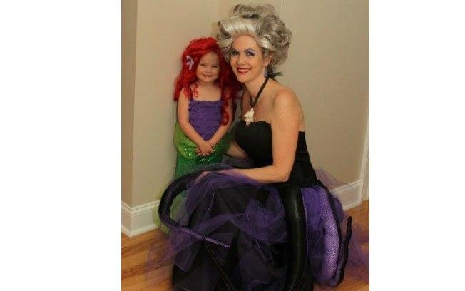 fb6e3885eaa A princesa Ariel e vilã Úrsula lado a lado!