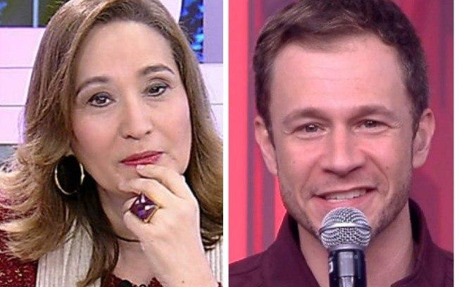 3e78fd4dd8 A apresentadora Sônia Abrão criticou a postura que Tiago Leifert tem como  apresentador do